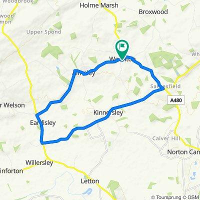 Logaston Road, Hereford to Logaston Road, Hereford