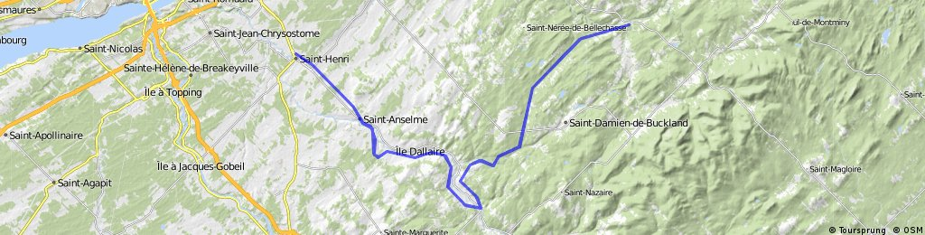 Cycloroute de Bellechasse