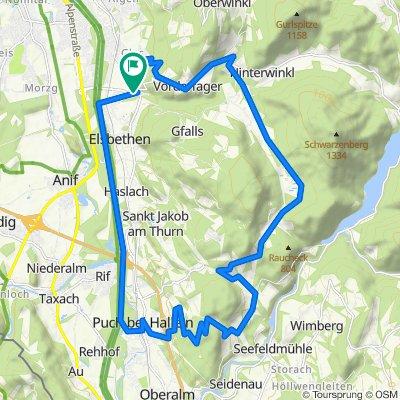 M14   Oberalmberg - Mühlstein Runde