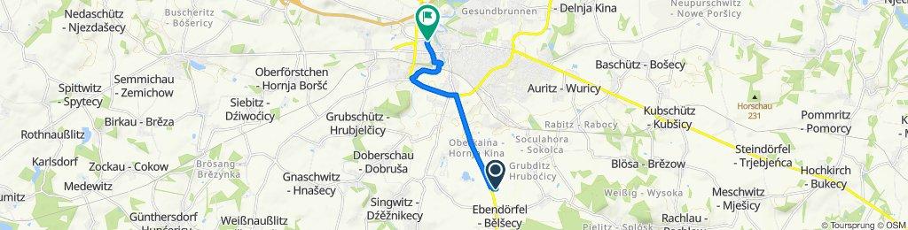 Moderate Route in Bautzen