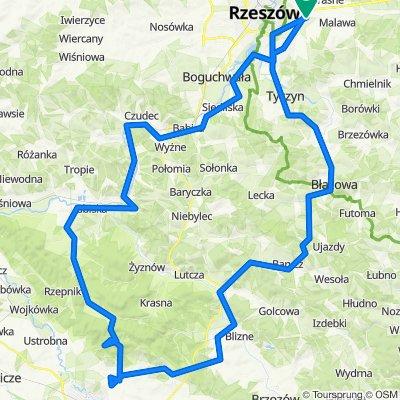 Rzeszów - Korczyna - Rzeszów