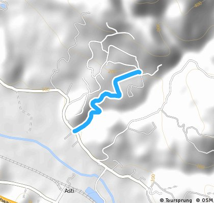 cloverdale koa from river rd (climb only)