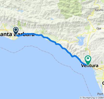 Easy ride in Ventura