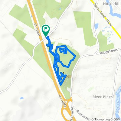 103–105 Rangeway Rd, North Billerica to 103–105 Rangeway Rd, North Billerica