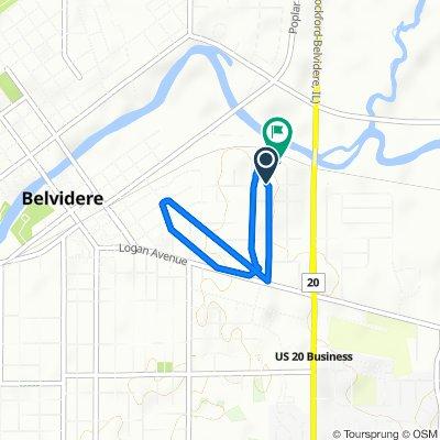 Beacon Drive 189, Belvidere to Biester Drive 173, Belvidere