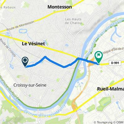 Itinéraire modéré en Rueil-Malmaison