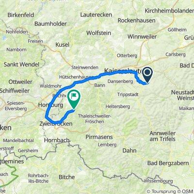 Waldleiningen nach Winterbach