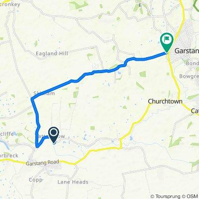 Fast ride in Preston