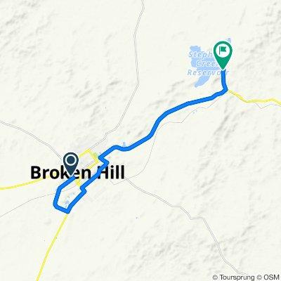 Backtracks to Stephen's Creek
