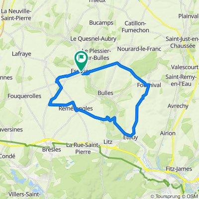 31 kms!