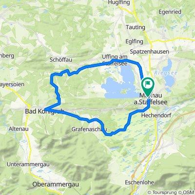 Radtour - Murnau - Bad Kohlgrub