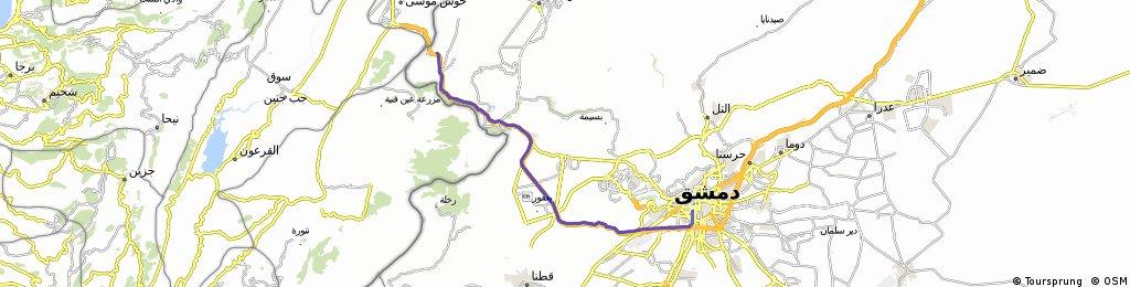 Grenze - Damaskus