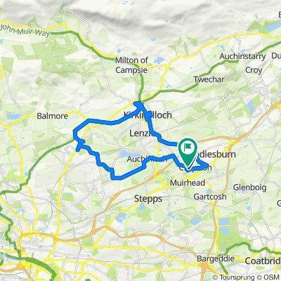 4 Yarrow Drive, Glasgow to 35 Cornel Crescent, Glasgow