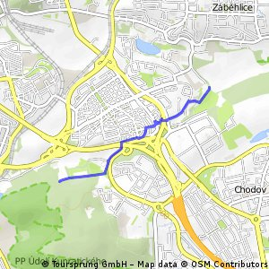 A222: Krč - Roztyly - Spořilov