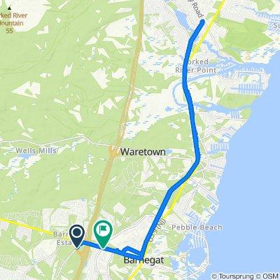 Restful route in Manahawkin