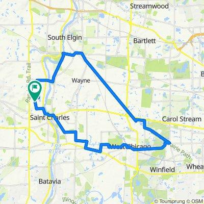30 mile Prairie Path