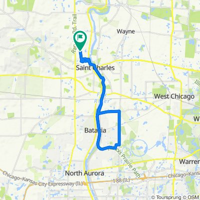 20 Mi South Rox and Batavia Loop