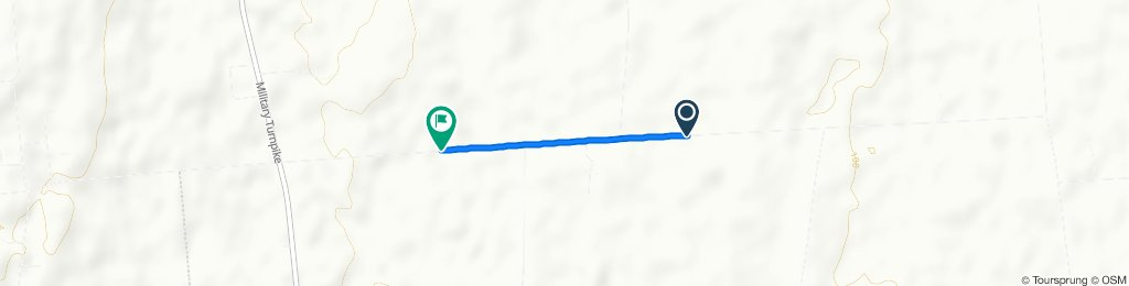 Fast ride in West Chazy