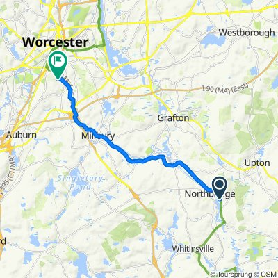 498–532 School St, Northbridge to 94 McKeon Rd, Worcester