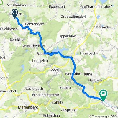 Viebigweg 24, Leubsdorf nach Olbernhau