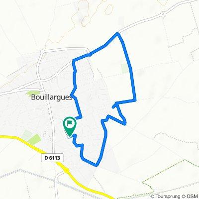 De Rue des Alpilles 30, Bouillargues à Rue des Alpilles 28, Bouillargues