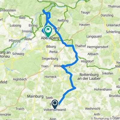 Überschallgeschwindigkeitsfahrt in Abensberg