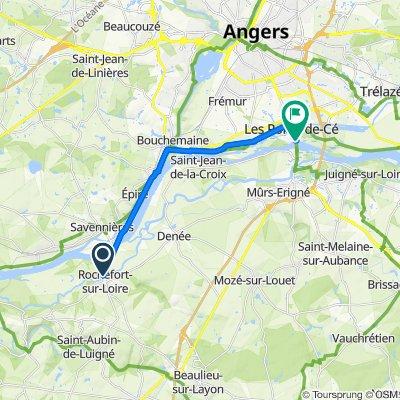 De Le Patureau, bienreçu c'est notéiųyhyijlukbwmwzmaisùdeu à Rue Charles de Gaulle 44, Les Ponts-de-Cé