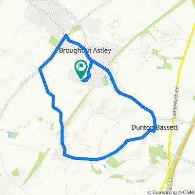 75 Devitt Way, Leicester to 28 Devitt Way, Leicester