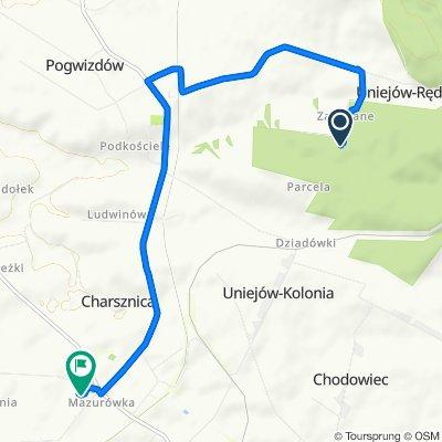 Umiarkowana trasa w Charsznica