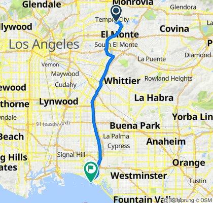 Seal Beach route