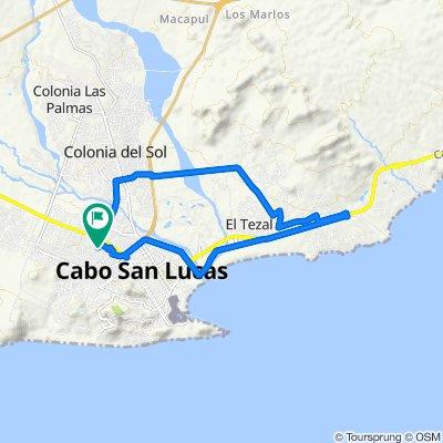 Ruta moderada en Los Cabos
