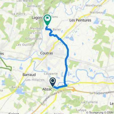Voyage meurtrier dans Coutras
