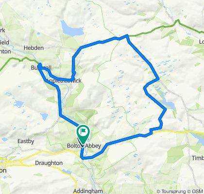 Smaller Bolton Abbey route