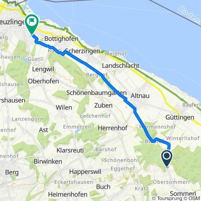Knackige Fahrt in Kreuzlingen