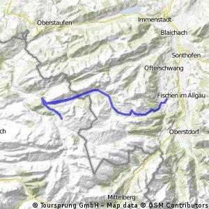 Riedbergpass - Sibratsgfäll