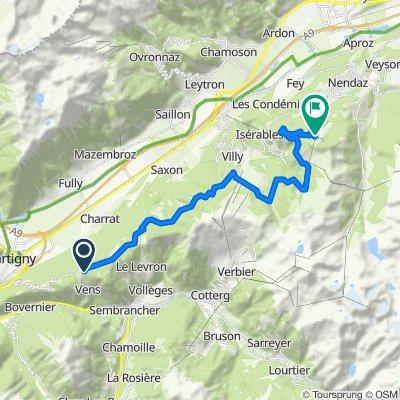 Charrat-les-Chênes Cycling