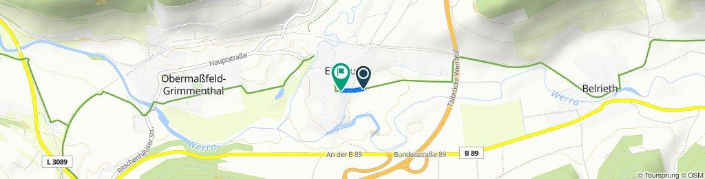 Entspannende Route in Einhausen
