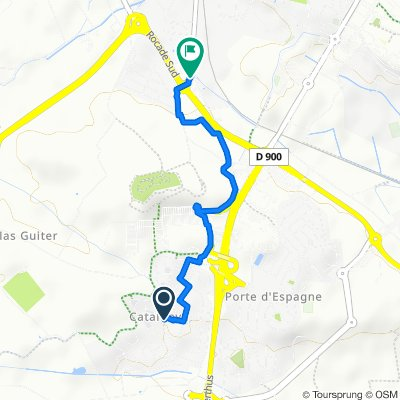 Itinéraire reposant en Perpignan