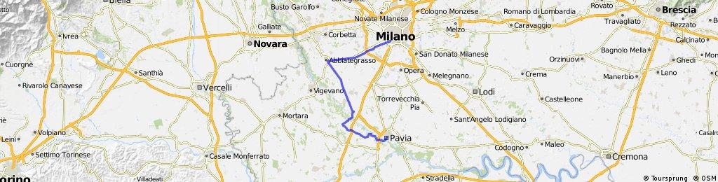 Mailand - Pavia