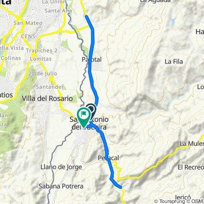 De Troncal1, San Antonio del Táchira a Carrera 12, San Antonio del Táchira
