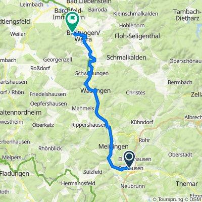 Werratalradweg Breitungen/Werra