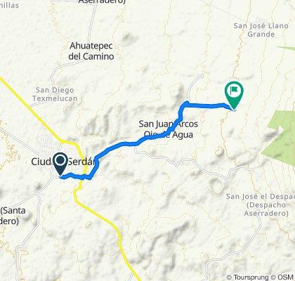 De Calle 5 Sur 910, Ciudad Serdán a Chalchicomula de Sesma