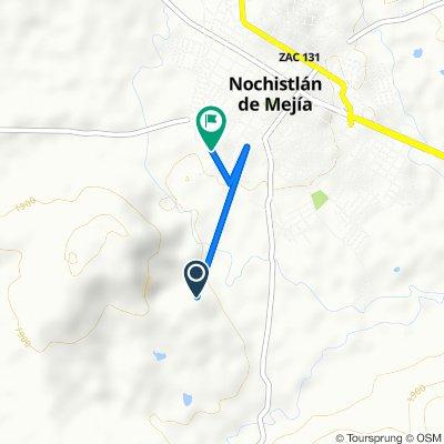 De Unnamed Road, Las Delicias a Pánfilo Natera 7, Nochistlán de Mejía