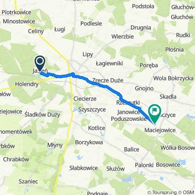 Łatwa trasa w Janowice Raczyckie