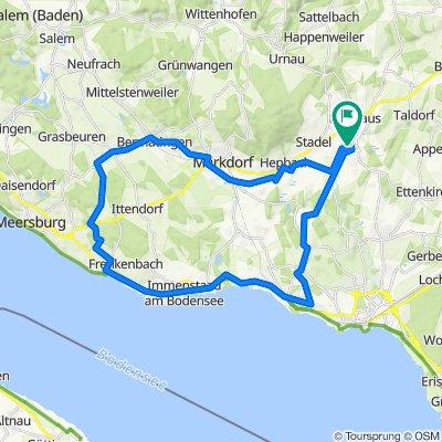Hefighofen - Friedrichshafen - Hagnau - Runde