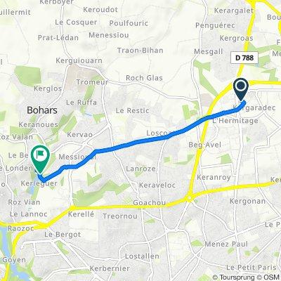 Itinéraire reposant en Bohars
