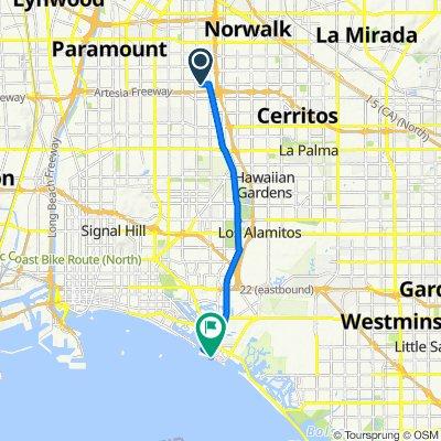 10350 Flora Vista St, Bellflower to 888 Ocean Ave, Seal Beach
