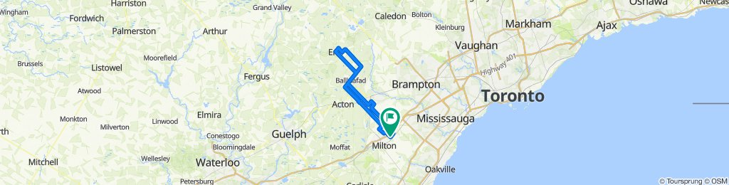 Milton to Erin Loop