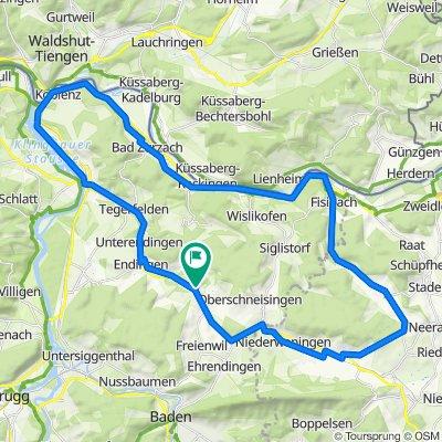 Lengnau - Fisibach - Koblenz - Lengau
