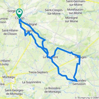 Tour de 52 km